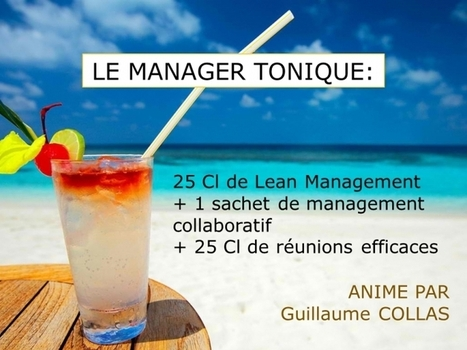 Le Manager tonique | Lean Management - Management Lean | Scoop.it