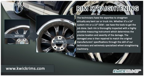 A Safer Driving Experience with Straightened Rims | Visual.ly | rim straightening | Scoop.it