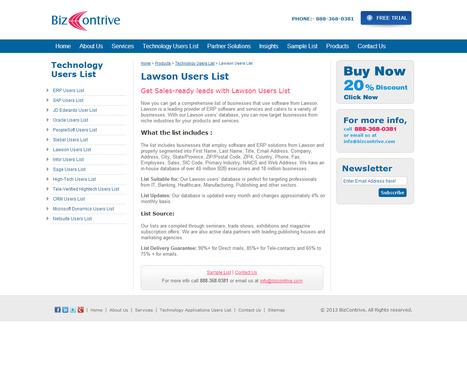 Lawson User List | Bizcontrive | Scoop.it