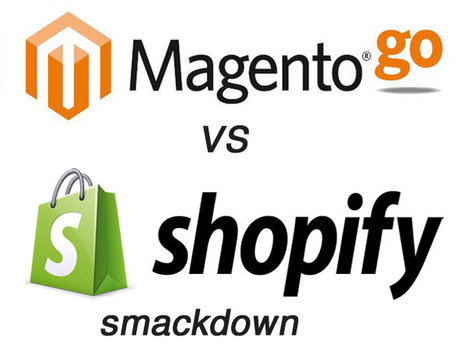 Magento Go vs Shopify Ecommere Online Store Smackdown | e-commerce social media | Scoop.it