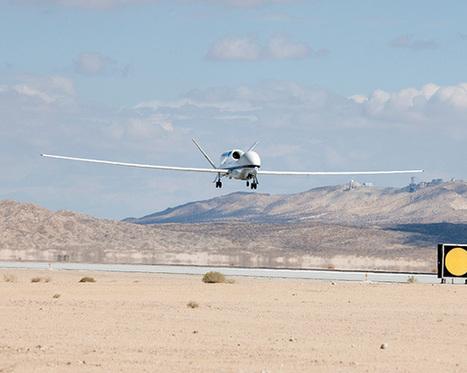 Le ravitaillement du drone Hawk bientôt rendu autonome   Actualités robots et humanoïdes   Scoop.it