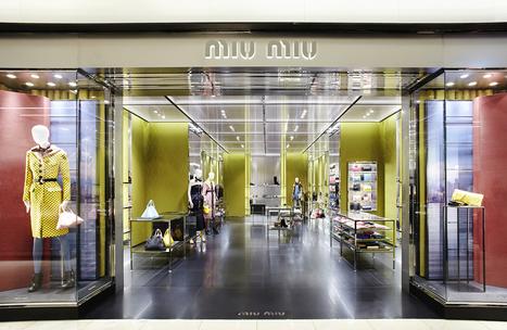 Miu Miu Opens New Store In South Korea In 'Hyundai Coex' Department Store | fashion retail visual merchandising | Scoop.it