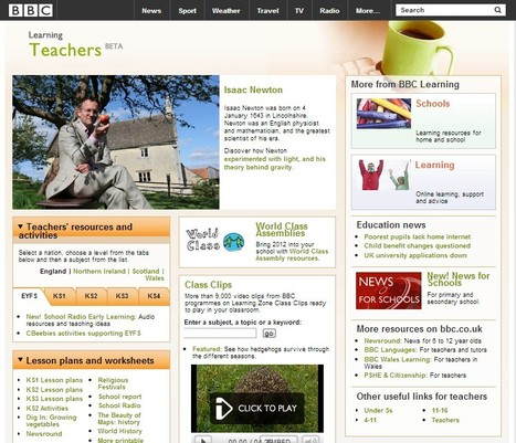 BBC - Teachers: Teaching resources from the BBC | 21st Century Tools for Teaching-People and Learners | Scoop.it