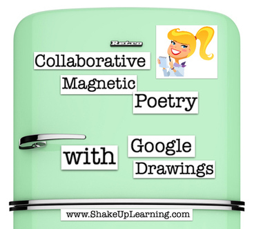 Collaborative Magnetic Poetry with Google Drawings (National Poetry Month) | Edtech PK-12 | Scoop.it