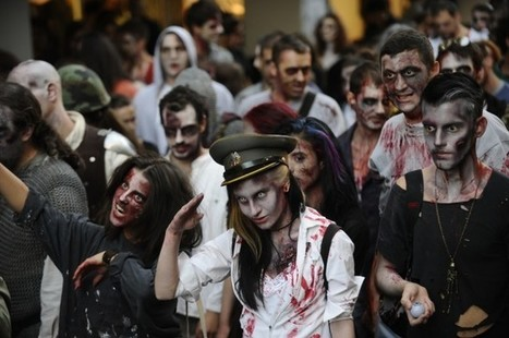 Mathematicians Work Out Zombie Apocalypse Plan | Math, technology and learning | Scoop.it