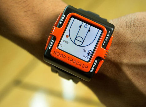Hoop Tracker Basketball Smartwatch Provides Automatic, Real-Time Shot Tracking | Tendencias tecnológicas | Scoop.it
