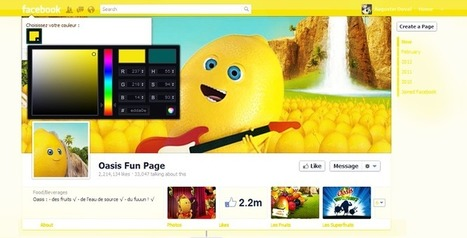 Changer les couleurs de Facebook grâce à ColorMyFacebook   khalid kassisse   Scoop.it