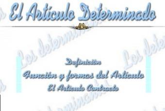 Determinantes I | Blogs y EF | Scoop.it