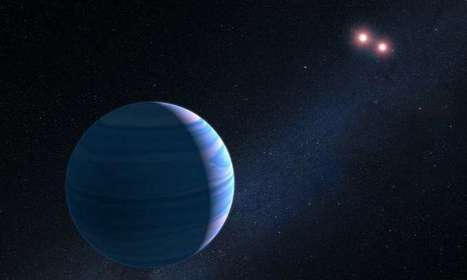Hubble finds planet orbiting pair of stars | Amazing Science | Scoop.it