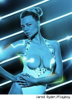 Playboy's 'Tron' shoot shows the beauty of 'Grid'-created boobies - | SEX | Scoop.it