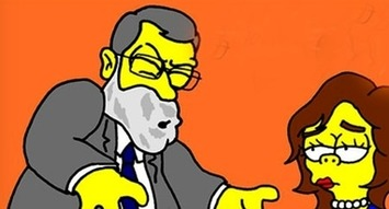 Exclusiva digital - Mariano Rajoy aparecerá en Los Simpson como un presidente poco inteligente y corrupto | Partido Popular, una visión crítica | Scoop.it