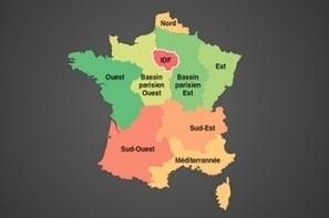 Infographie : Les régions les plus connectées en France | Education & Numérique | Scoop.it
