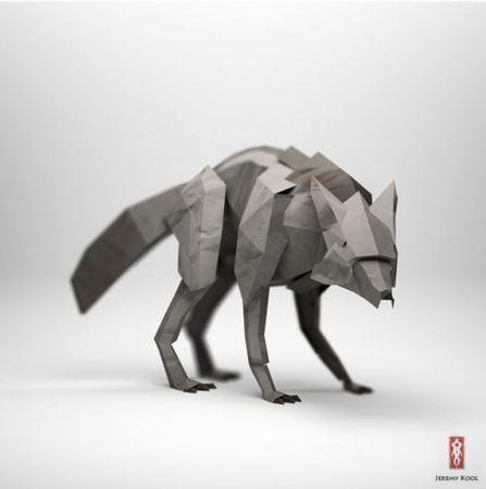 Jeremy Kool's Origami Animals - 9bytz | Animals Make Life Better | Scoop.it