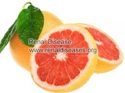 Grapefruit and Dialysis Patients | renaldiseases | Scoop.it