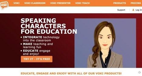 Voki. Dotez-vous d'un avatar numérique pour animer vos présentations – Les Outils Tice | L'eVeille | Scoop.it