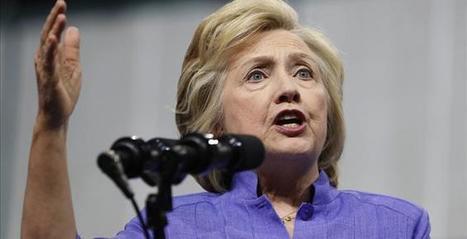 Nosedive: Clinton Drops Seven Points In Three Days   Global politics   Scoop.it