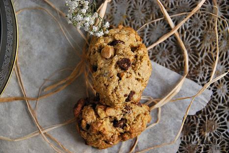 Cookies aux pépites de chocolat et noix   Couture, cuisine jardinage   Scoop.it