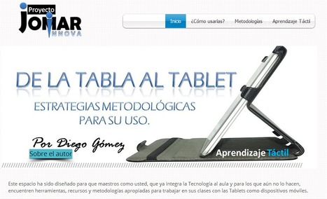 De la Tableta al Tablet | + TIC y + educación para todos | Scoop.it