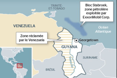 Tension maximum entre le Venezuela et le Guyana | Venezuela | Scoop.it