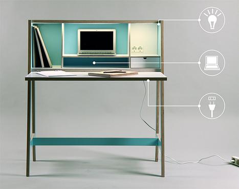 Cabinet Desk by Laura Petraitytė » Yanko Design   Céka décore   Scoop.it