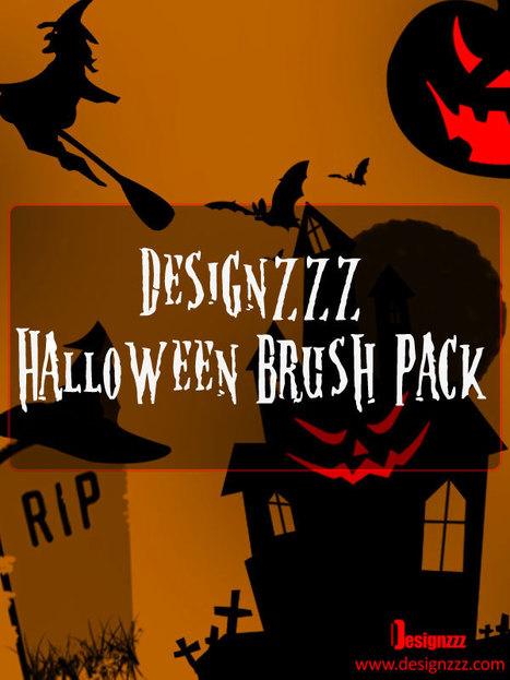 High Resolution Halloween Brush Set for Photoshop | photoshop ressources | Scoop.it