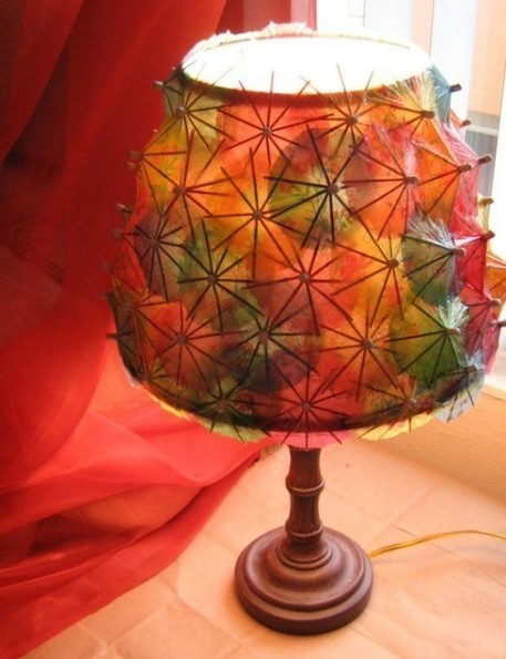 DIY Cocktail Umbrella Lamp | DIY Craft Ideas For The Home | Scoop.it