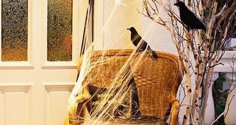 Cool Halloween Decor: Flying Crows | Halloween | Scoop.it