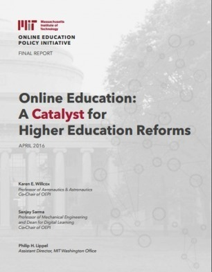 Final Report | MIT Online Education Policy Initiative | Educational Technology in Higher Education | Scoop.it