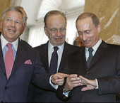Spokesman for Putin denies he stole Kraft's Super Bowlring | Awesome ReScoops | Scoop.it