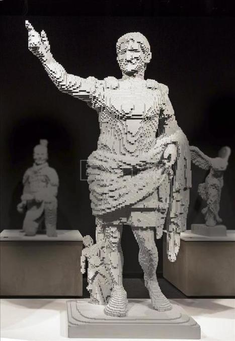 Roma expone figuras como Mona Lisa o Augusto creadas en bloques de Lego | Mundo Clásico | Scoop.it