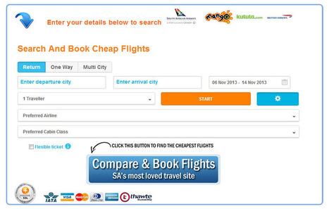 Cheap Flights | Cheapest Flights | Domestic Flights South Africa | Domestic Flights South Africa | Scoop.it
