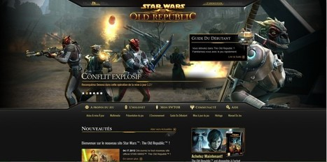 Nouveau skin pour swtor.com ! | SWTOR : Star Wars The Old Republic | Scoop.it