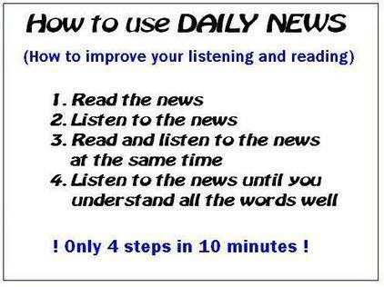 Easy English news, short news, English story, reading skills for you | English as a foreign language. Materials | Scoop.it