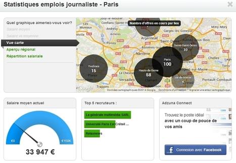 Un nouveau moteur de recherche d'emploi qui mêle social et datavisualisation | La communication digitale & l'E-business | Scoop.it