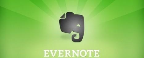 Aprende a usar Evernote, la aplicación que disparará tu productividad | Educación Y TIC | Scoop.it