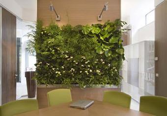 Jardines verticales en interiores ideas para - Jardines verticales interiores ...