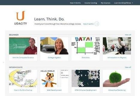 Udacity, la excelente plataforma de cursos online gratuitos, estrena diseño | Recull diari | Scoop.it