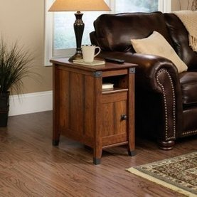 Sauder Carson Forge Side Table Washington Cherry Finish | Home Office Furniture | Scoop.it
