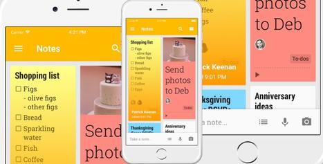 Google Keep llega definitivamente a la App Store | Mobile Technology | Scoop.it