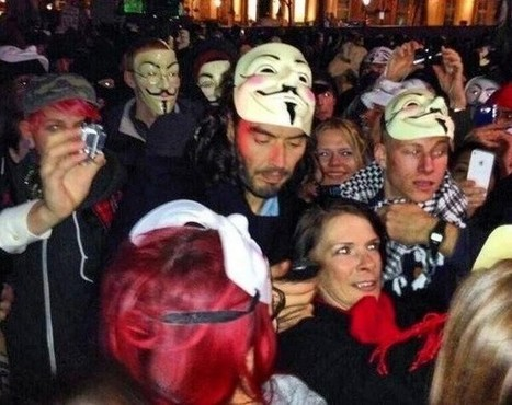 Russell Brand Explains Anonymous Protest: I Believe in a Beautiful Revolution | Anonymous' MillionMaskMarch | Scoop.it