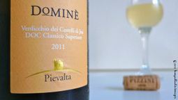 Dominè Verdicchio dei Castelli di Jesi DOC Classico Superiore 2011 | Wine, history and culture... | Scoop.it