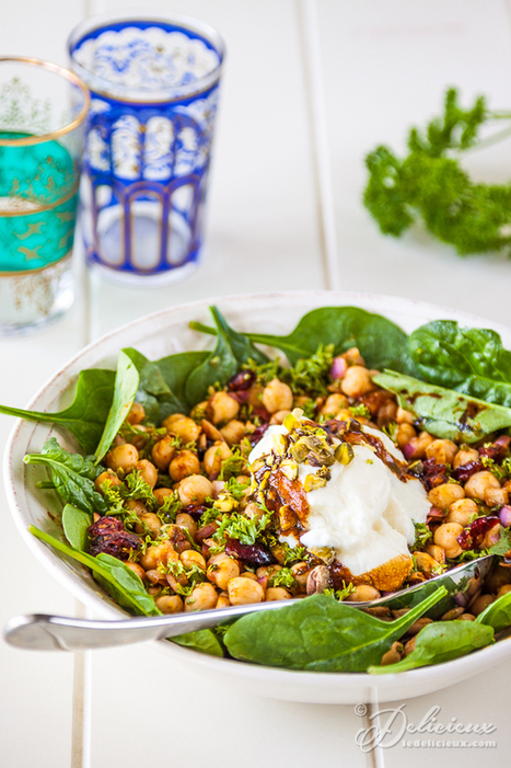 Moroccan Chickpea Salad | Meatless mondays | Scoop.it