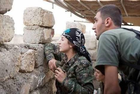 Mayssa Abdo, la femme qui dirige la bataille contre les jihadistes à Kobané | Les kurdes | Scoop.it