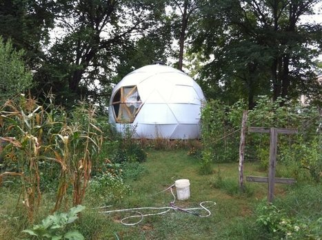 Frameless Geodesic Dome | sustainability | Scoop.it