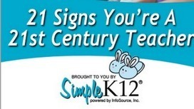 The 21 Signs you are A 21st Century Teacher | ICT in our schools | Scoop.it