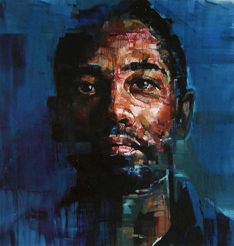 New Portraits by Andrew Salgado #art #painting #portraiture | Luby Art | Scoop.it