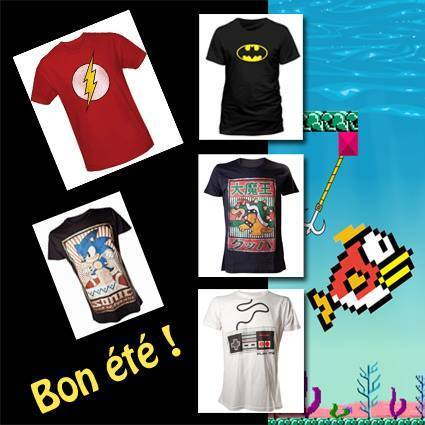 Pas d'été sans un super tee-shirt geek !!! | HiddenTavern | Scoop.it