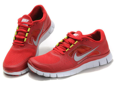 New Arrival Nike Free Run 3 Womens Coral Red Pink Neon White Reflect Silver Volt | nike free pink | Scoop.it