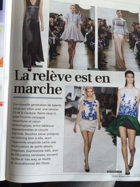 La relève est en marche, Julien Fournié, Journal du Textile | FashionLab | Scoop.it