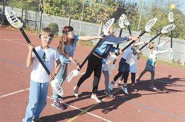 In pictures: Kids get sporty at Claires Court Holiday Club - Maidenhead Advertiser | My Child Learns UK | Scoop.it